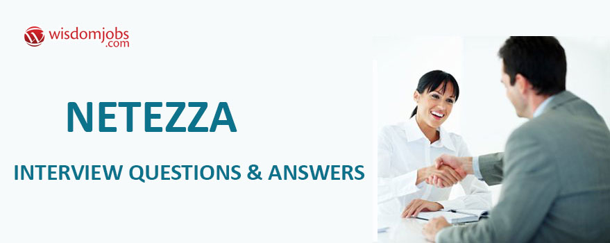Netezza Interview Questions & Answers