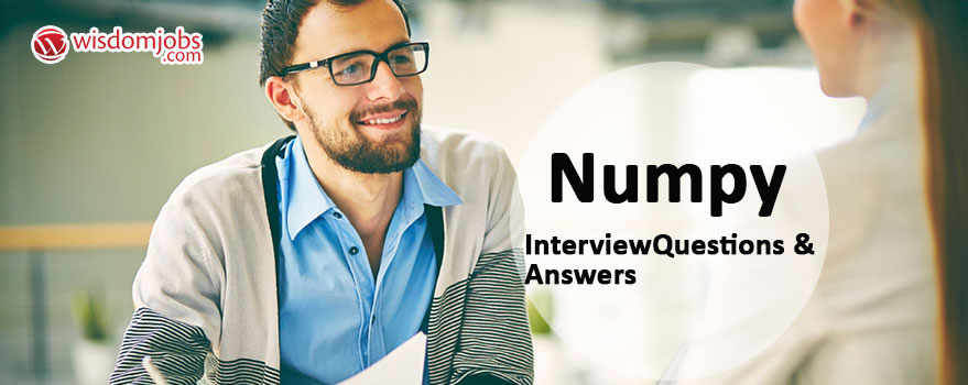 NumPy Interview Questions & Answers