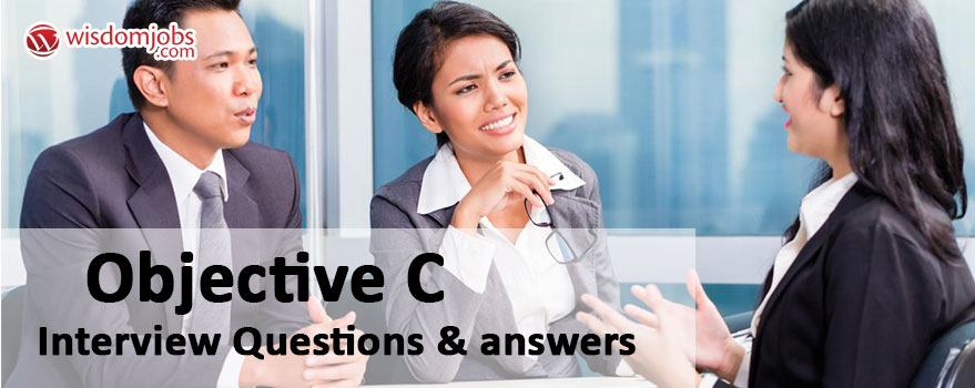 Objective C Interview Questions & Answers