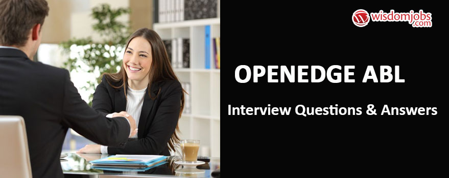 Openedge Abl Interview Questions