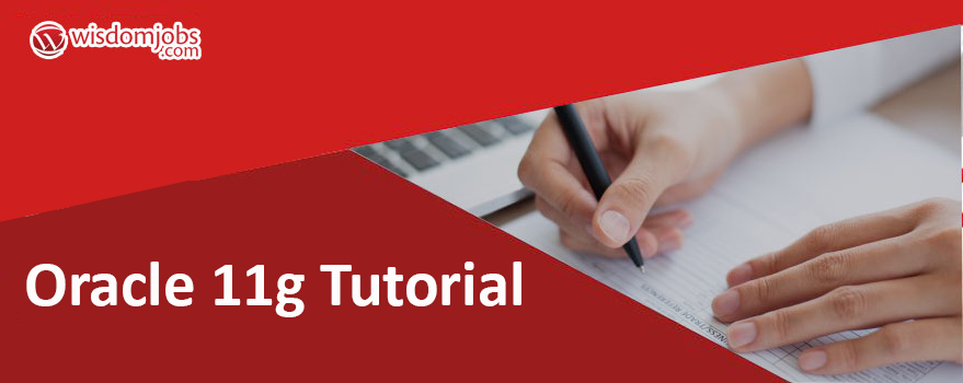Oracle 11g Tutorial Pdf