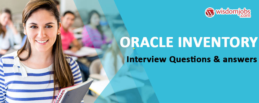Oracle Inventory Interview Questions