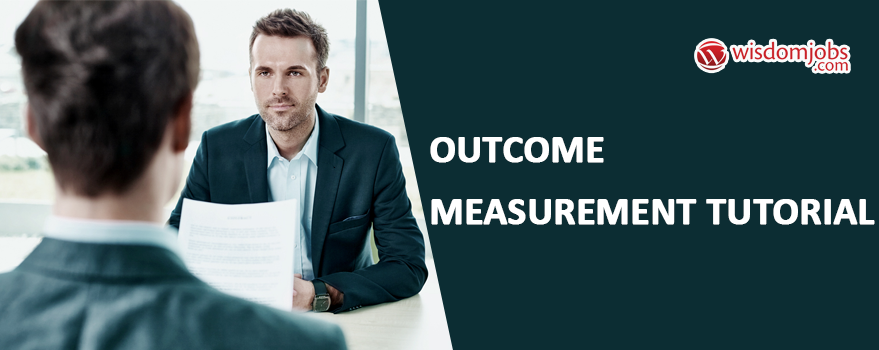 Outcome Measurement Tutorial