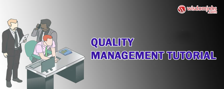 Quality Management Tutorial