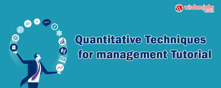 Quantitative Techniques for management Tutorial