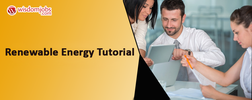 Renewable Energy Tutorial