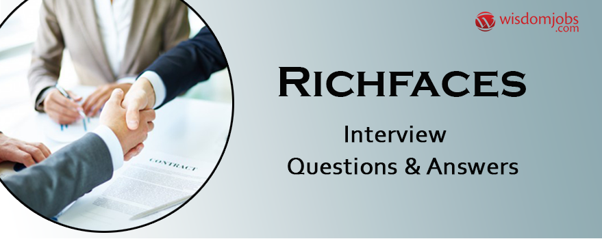 RichFaces Interview Questions