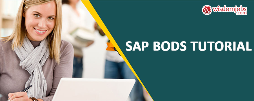 SAP BODS Tutorial
