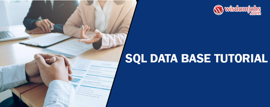 SQL Database Tutorial