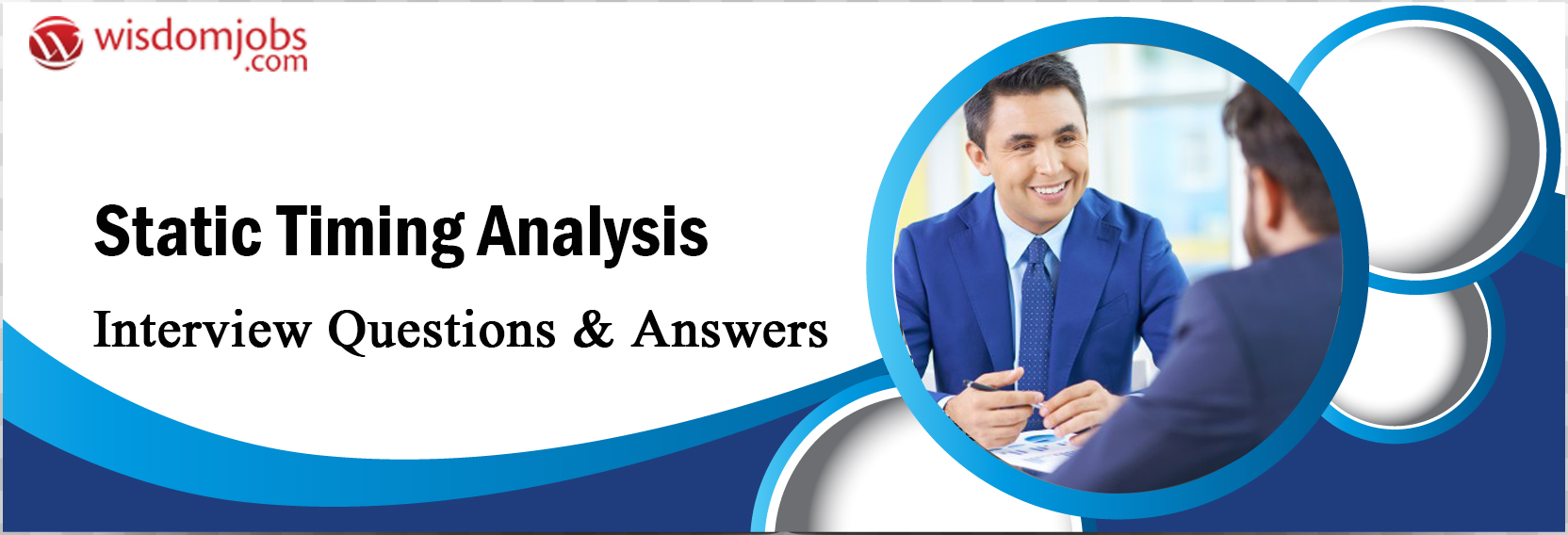 Static Timing Analysis Interview Questions & Answers