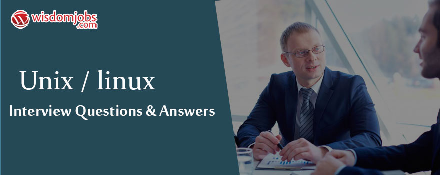 Unix/Linux Interview Questions