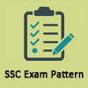 SSC Exam Pattern - SSC