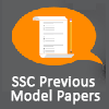 SSC Previous Model Papers - SSC