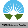 TNPSC Interview Results - PSC