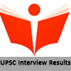 UPSC Interview Results - PSC