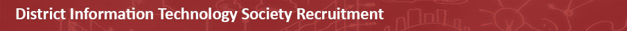 District Information Technology Society Recruitment 2020