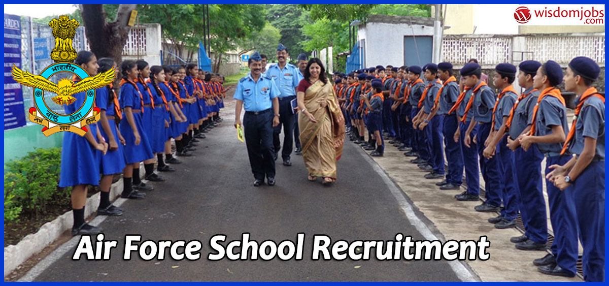 Air Force School Recruitment 2020