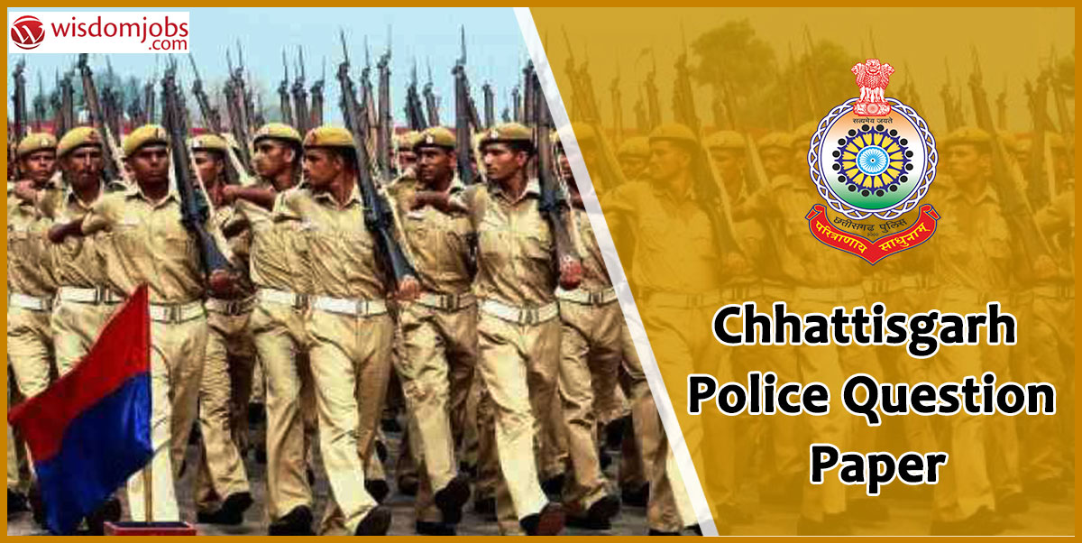 Chandigarh Police Question Paper and answers
