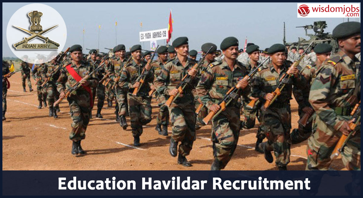 Education Havildar Recruitment 2020