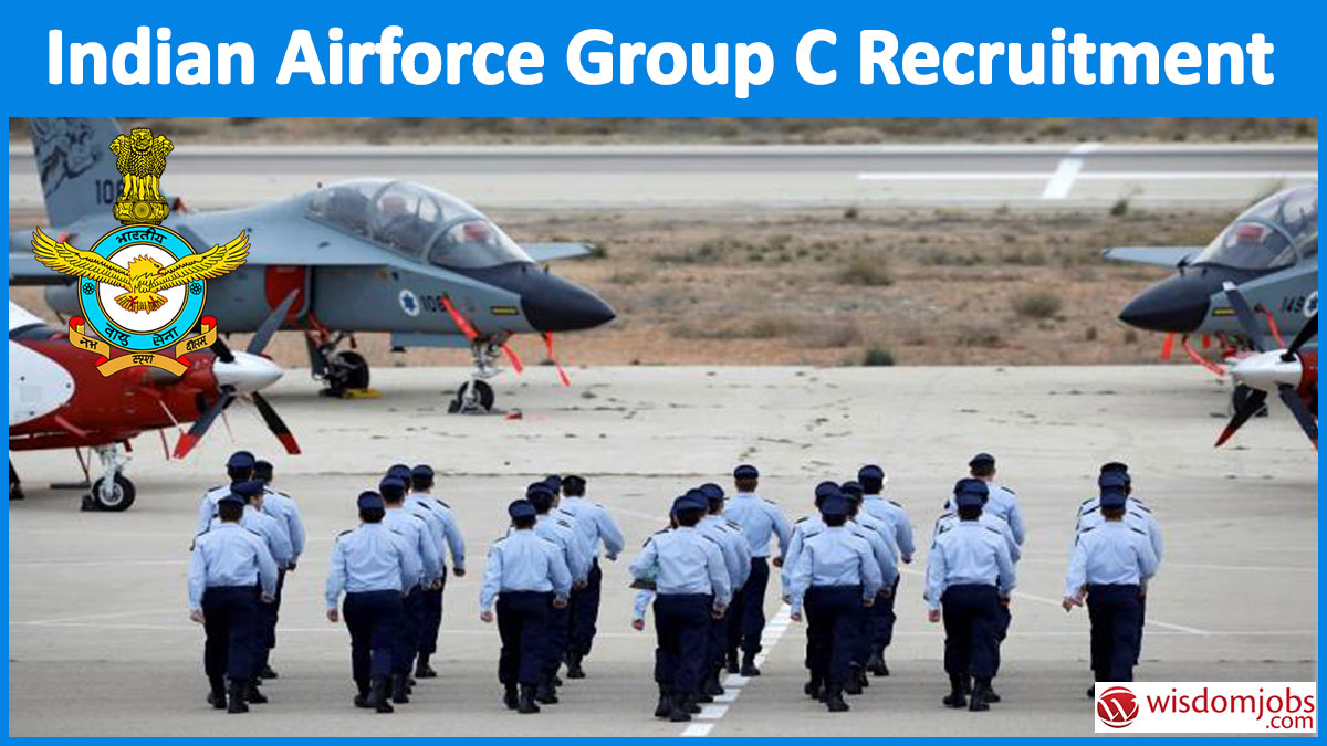 Indian Airforce Group C Recruitment 2020