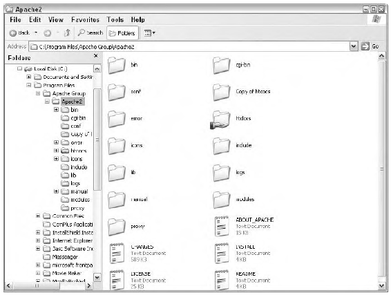 Applications such as Windows Explorer use multiple panes to display a variety of information and controls.