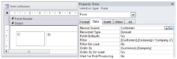Displaying Records in MS Access Tutorial pdf 02 06 2019