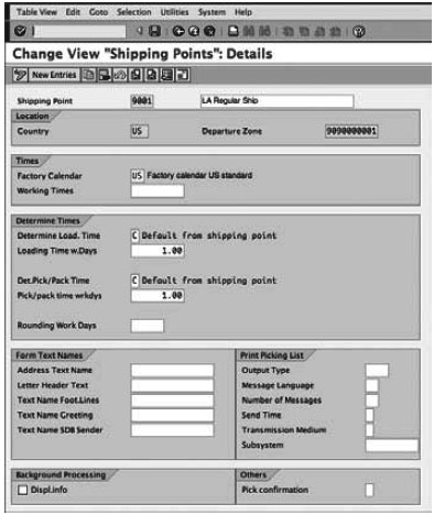 Sensational Setting Up A Shipping Point In Sap Sd Tutorial 03 September Download Free Architecture Designs Grimeyleaguecom