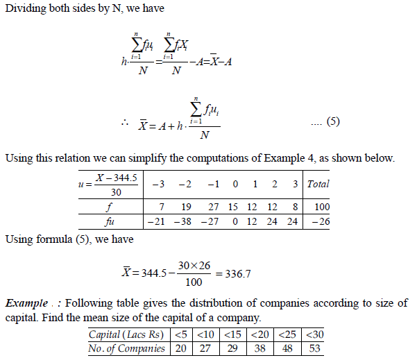 deviation method or coding method
