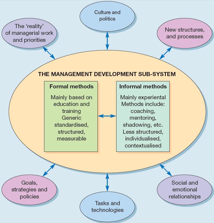 Management development as an open system