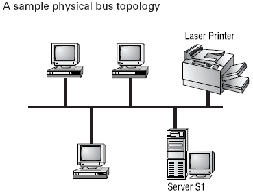 Physical bus topology