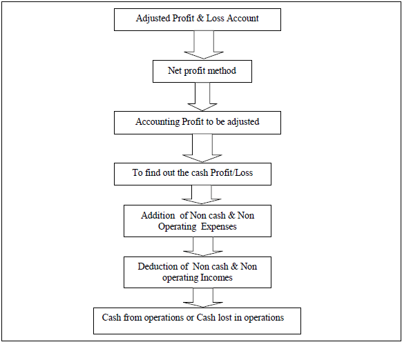 STEPS IN THE PREPARATION OF CASH FLOW STATEMENTS in Accounts