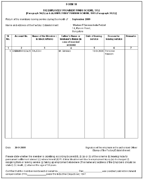 Printed Form 12A