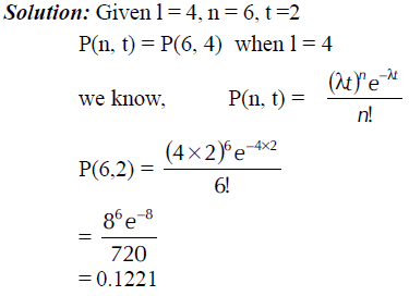 POISSON AND EXPONENTIAL DISTRIBUTIONS in Quantitative