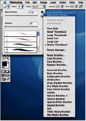 settings are not associated to this tip until you save it as a brush preset