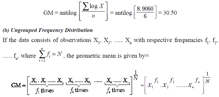 un grouped frequency distribution