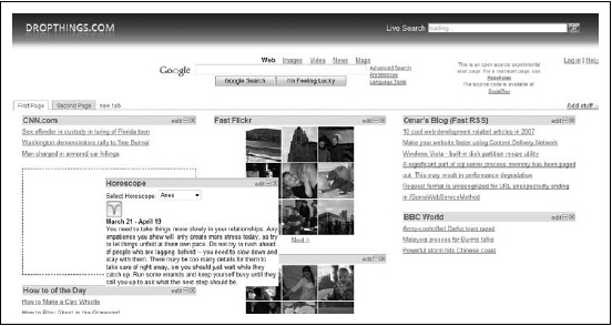 You can drag and drop widgets on the page and reorganize the page as you like