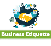 Business etiquette Interview Questions