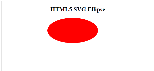 HTML5 SVG Gradient Ellipse