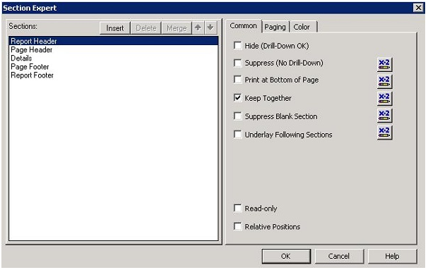 Crystal Reports Delete Sections in SAP Crystal Reports Tutorial pdf