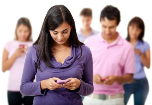 effects of text messaging to young people
