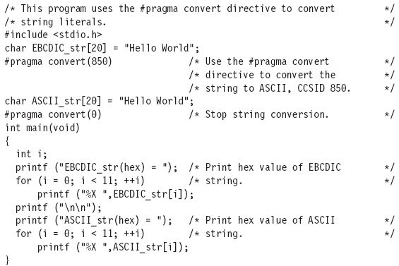 Converting String Literals in a Source File in IBM-ILE Tutorial pdf