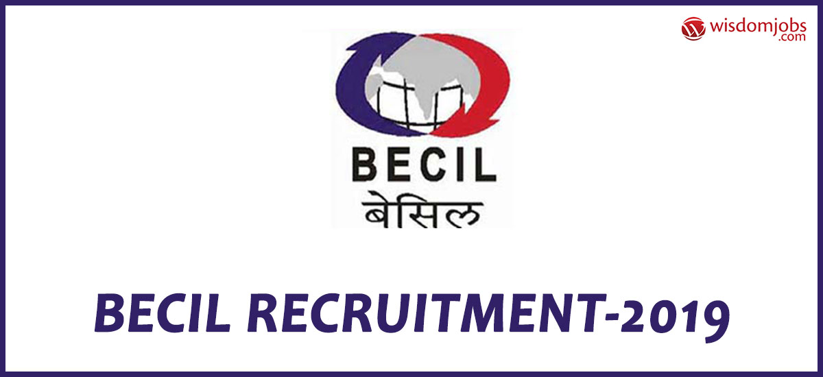 BECIL Notification 2019 – Opening for 33 Analyst Posts