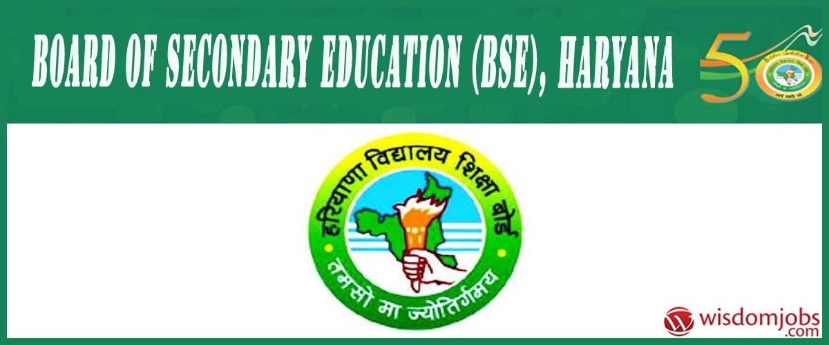 Board of Secondary Education, Haryana
