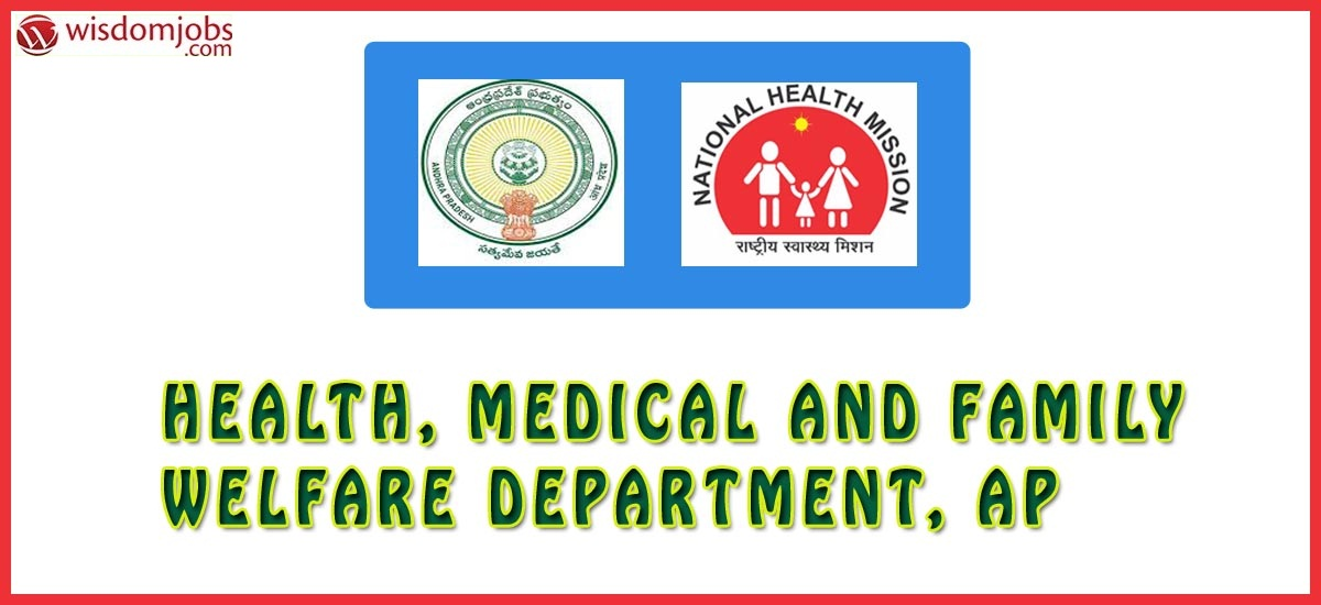 Health, Medical and Family Welfare Department, AP