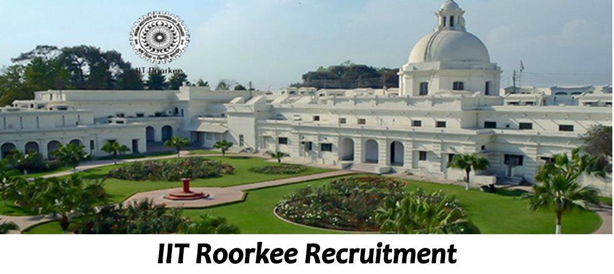 IIT Roorkee Recruitment -  JRF Post