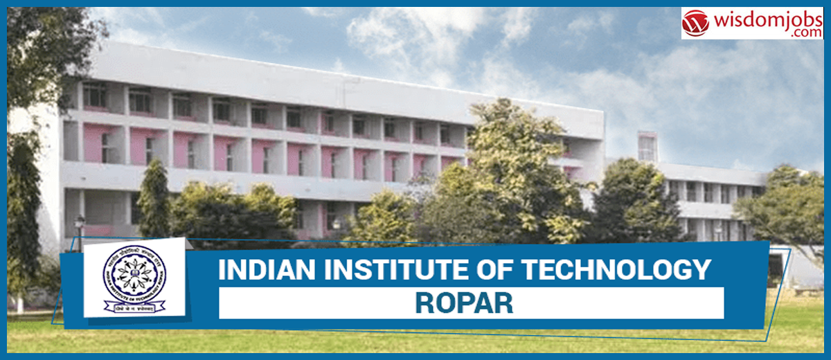 IIT Ropar Recruitment - JRF Post