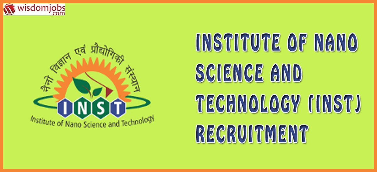 INST Recruitment - Technical Assistant Posts