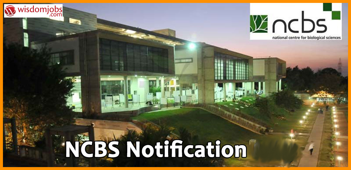 NCBS Recruitment - Library Trainees Posts