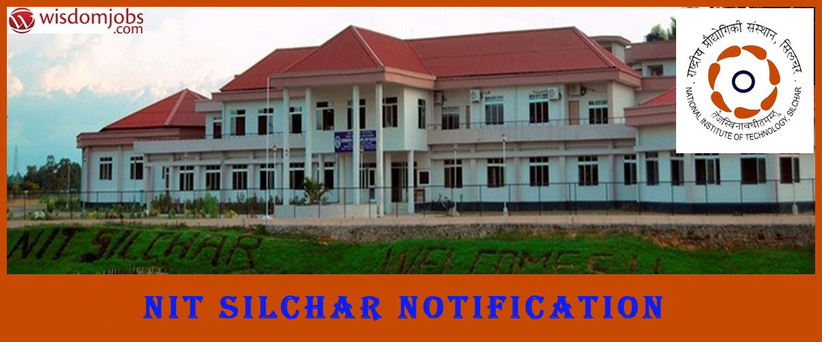 NIT Silchar Recruitment - JRF Post
