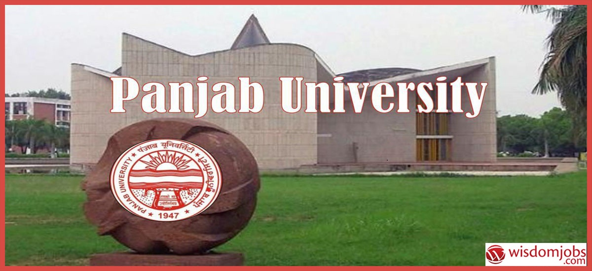 Panjab University Recruitment - Guest Faculty Post